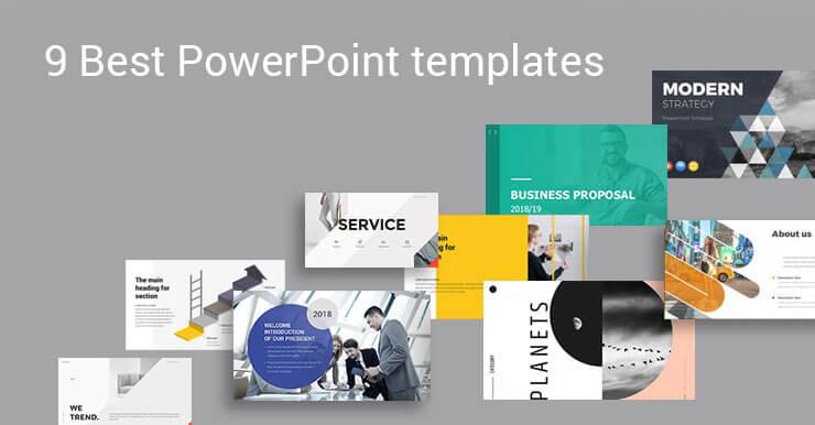 9 Best PowerPoint templates 2019