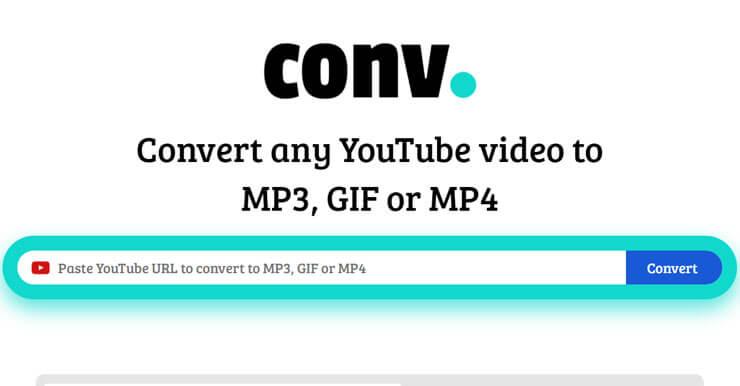 Youtube下載MP4,只需要網址加CONV(免安裝)