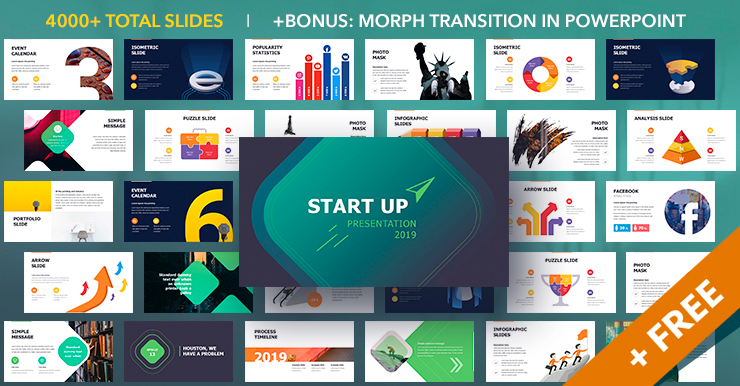 Start Up PowerPoint Presentation Template 2019
