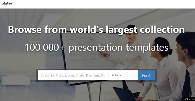 10萬套PowerPoint模板素材,SmileTemplates全球最大PPT資源下載網站